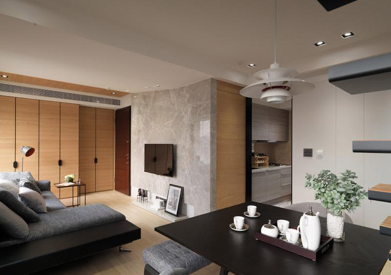 75平精致跃层设计 都市现代风品质生活
