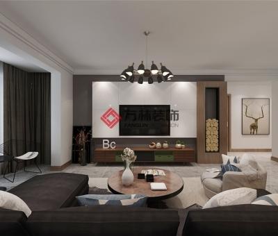 天泰翰宇苑 120平 北欧装修效果图--父母的爱,温暖的家
